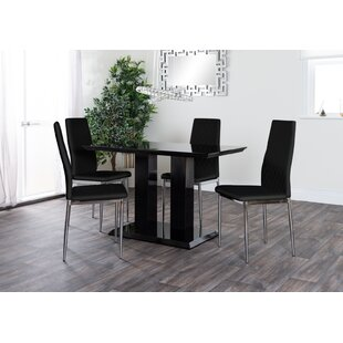 Ransberg Dining Set With 4 Chairs By Metro Lane