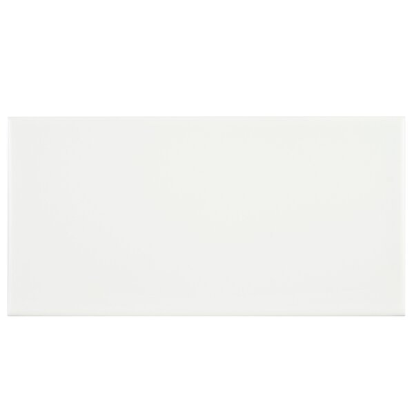 "Elite Tile Proyecto 3.88"" X 7.75"" Ceramic Subway Tile In Matte Neve & Reviews by Elite Tile"