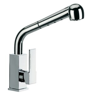Remer by Nameek's Single Handle Deck Mounted Kitchen Sink Faucet