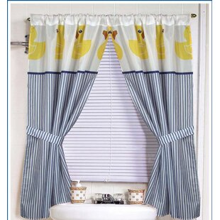Ducky Curtain Panels Set Of 2