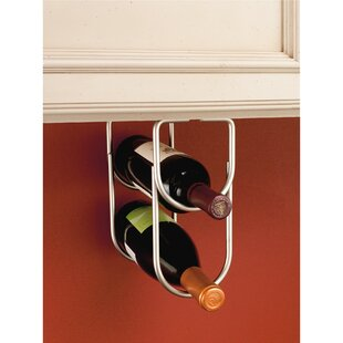 2 Bottle Hanging Wall Mounted Wine Bottle Rack