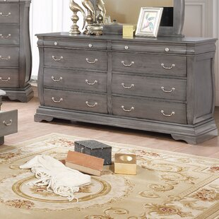 Monge 8 Drawer Double Dresser