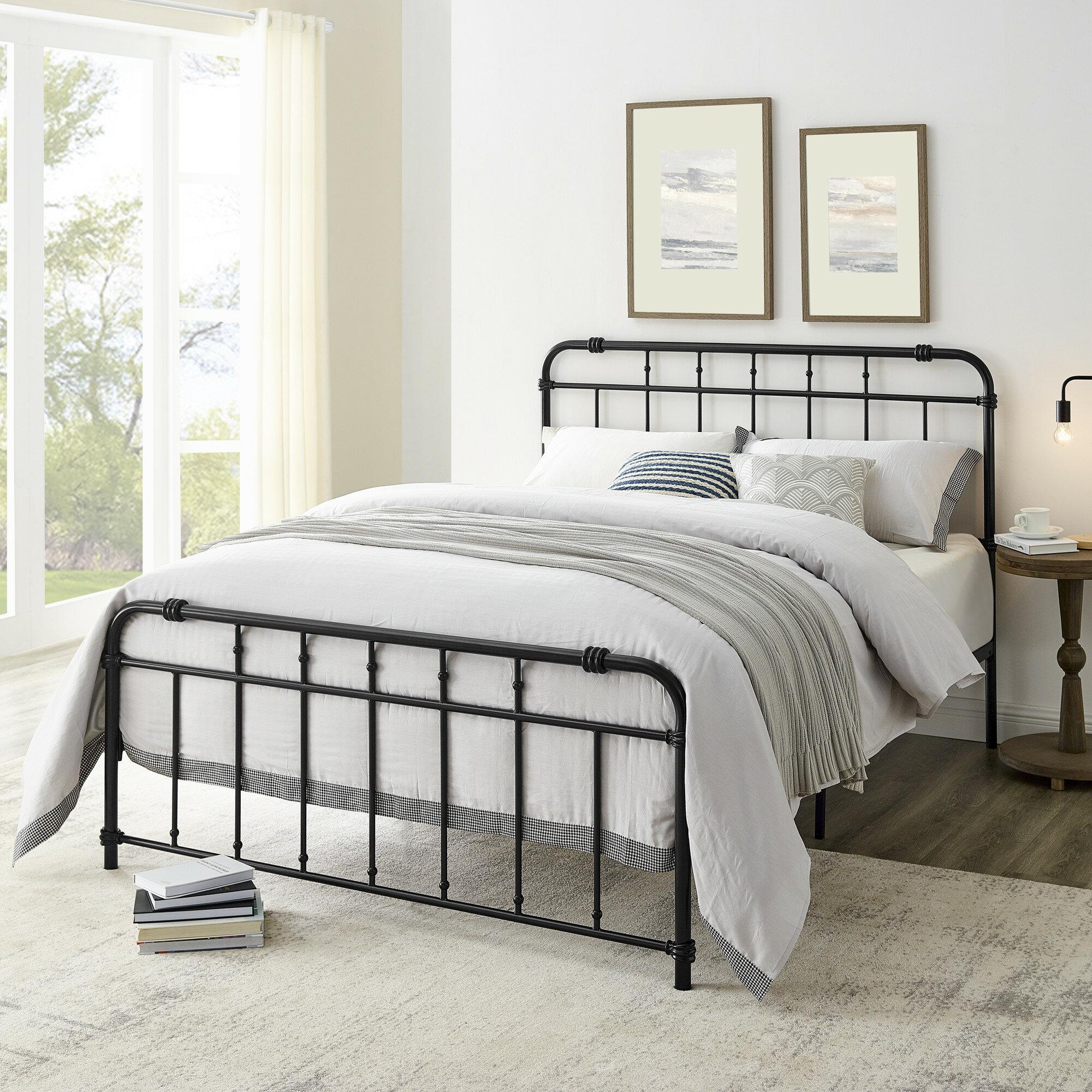 Alwyn Home Lisbeth Metal Bed Frame Reviews