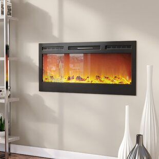 Jemaine Wall Mounted Fireplace..