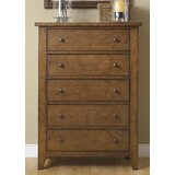 Warkentin 5 Drawer Chest by Charlton Home®