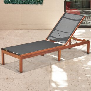 Hillsford Reclining Chaise Lounge by Beachcrest Home