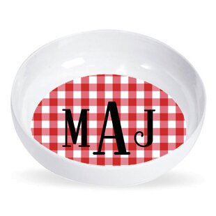 8 oz. Melamine Personalized Pasta Bowl (Set of 4)