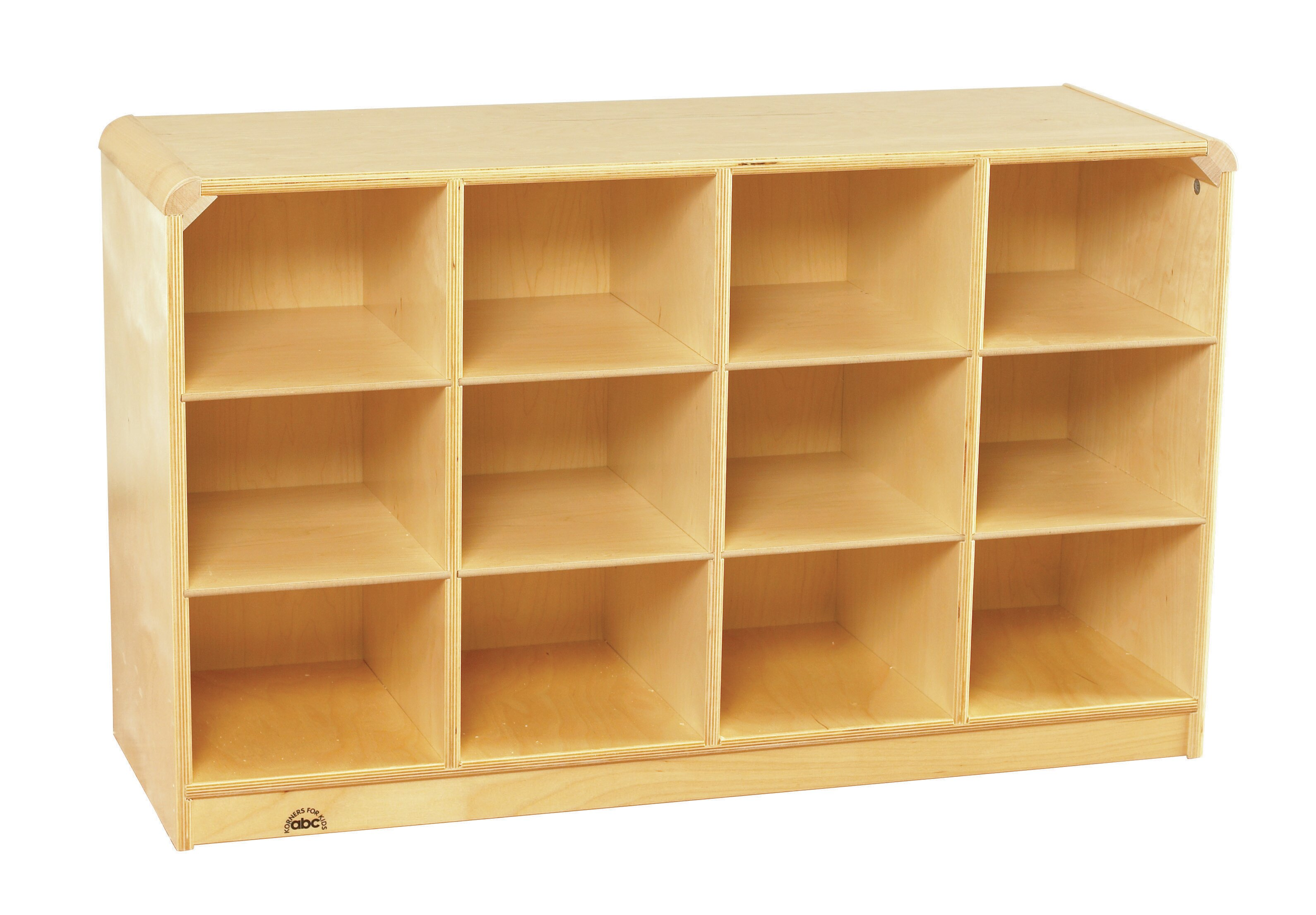 Childcraft 12 Compartment Cubby With Casters Reviews Wayfair