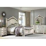 Zigler Queen Four Poster Configurable Bedroom Set by Astoria Grand