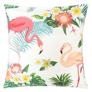 Bax Flamingo Paradise Outdoor Throw Pillow