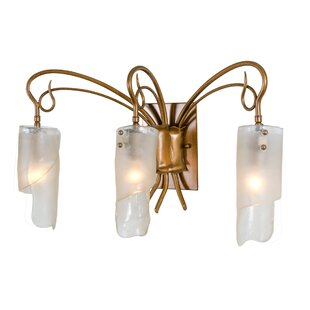 Shery Recycled 3-Light Vanity Light by World Menagerie