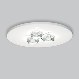ZANEEN design Polifemo 3-Light Flush Mount