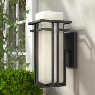 Weitzel Outdoor Sconce by Winston Porter