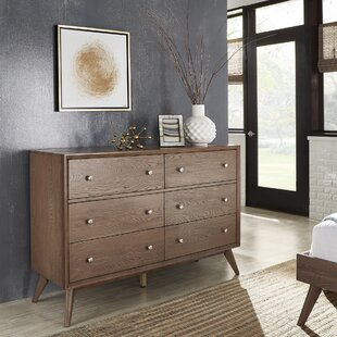 Langley Street Angelo 6 Drawer Double Dresse..