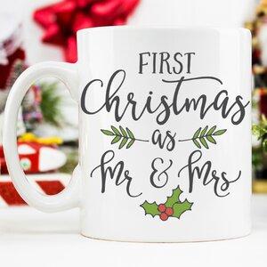 First Christmas as Mr & Mrs 11 oz. Mug