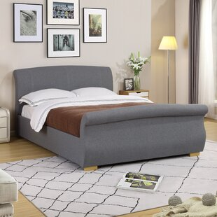 Pizarro Double (4'6) Upholstered Bed Frame By Brayden Studio