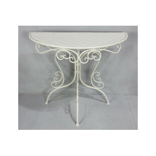 Bridget Iron Bistro Table By Fleur De Lis Living