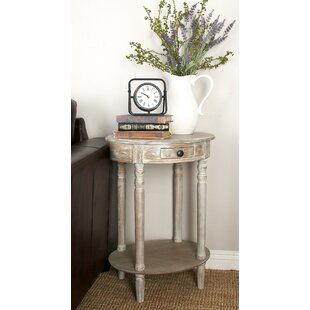 Compare prices Meadville End Table by Highland Dunes