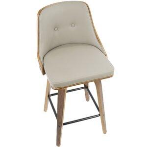 Incredible Langley Street Alexa 26 Swivel Bar Stool Theyellowbook Wood Chair Design Ideas Theyellowbookinfo