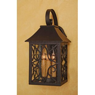 Great choice Hancock 3-Light Outdoor Wall Lantern By Laura Lee Designs