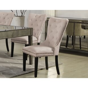 Masonic Side Upholstered Dining Chair (Set of 2) Rosdorf Park