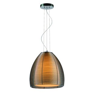 Cocoon 1-Light Dome Pendant by Lampenhaus