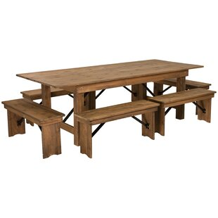 Pitre 7 Piece Dining Set Gracie Oaks
