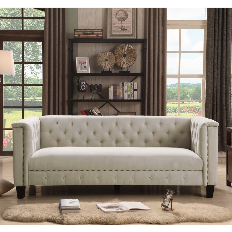 Broughtonville Tufted Chesterfield Sofa