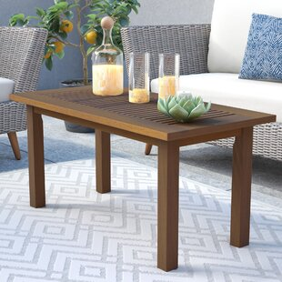 Arianna Solid Wood Coffee Table by Langley Street