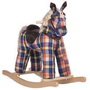 Reviews Checkers Vintage Rocking Horse ByRockin' Rider