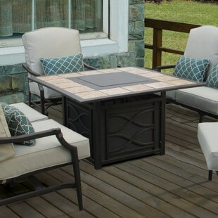 Wildon Home ® Parker Propane Fire Pit Table