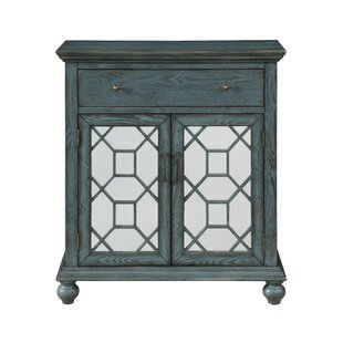 Guernsey 2 Door 1 Drawer Accent Cabinet by Bungalow Rose