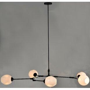 Wrought Studio Beckley 5-Light Sputnik Chandelier