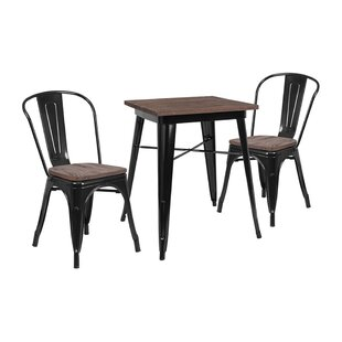 Mulga 3 Piece Dining Set Williston Forge