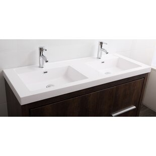 Comparison Azucena 47 Double Bathroom Vanity Set ByWrought Studio