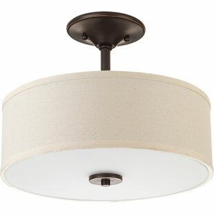 Find Greenwell 1-Light LED Semi Flush Mount By Three Posts