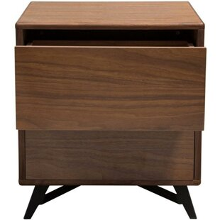 Messiah 2 Drawers End Table