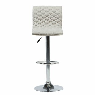Bonnette Adjustable Height Swivel Bar Stool
