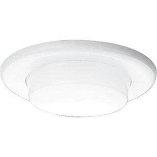 Drop Opal Shower Lens Recessed Trim