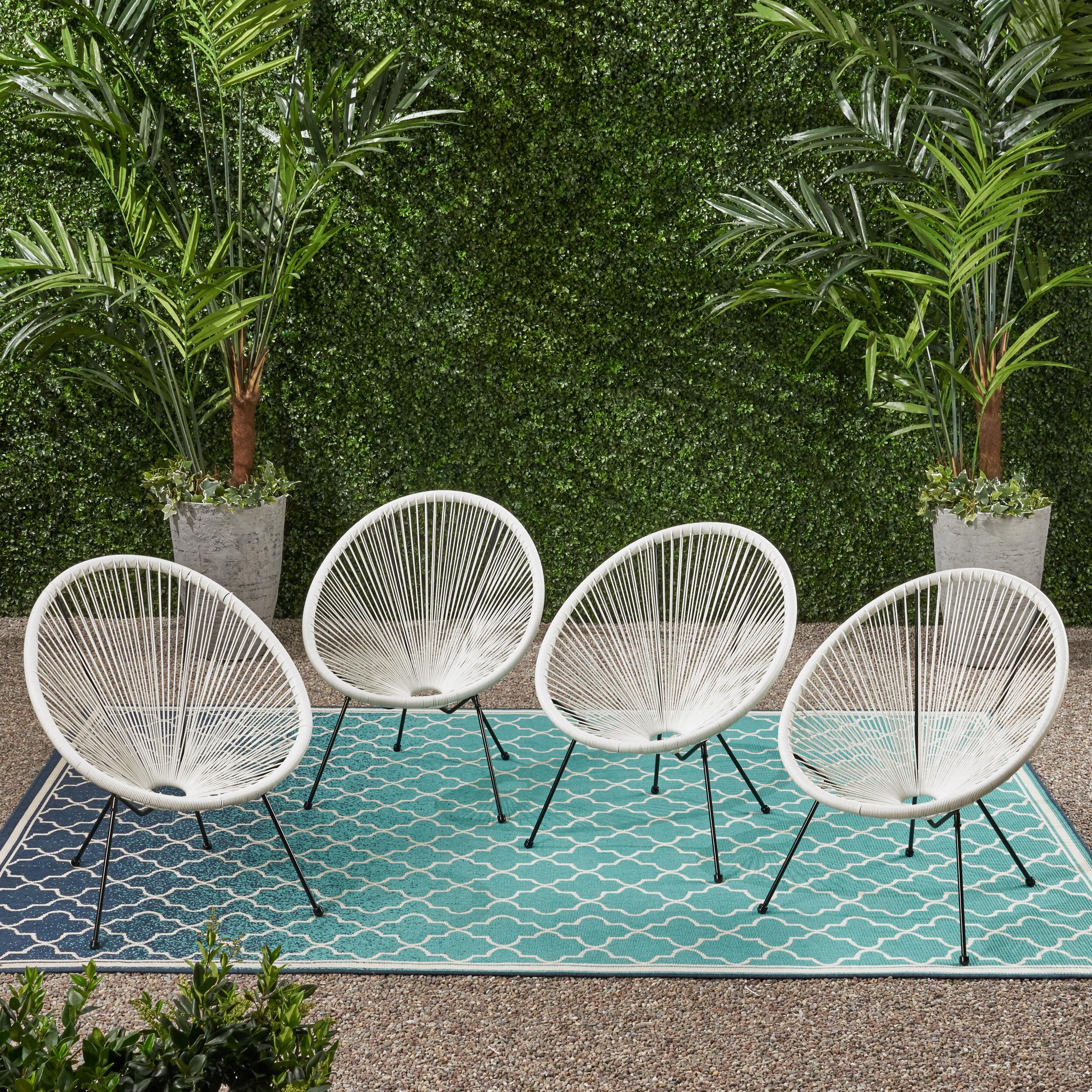 George Oliver Englewood Outdoor Hammock Weave Patio Chair Reviews Wayfair