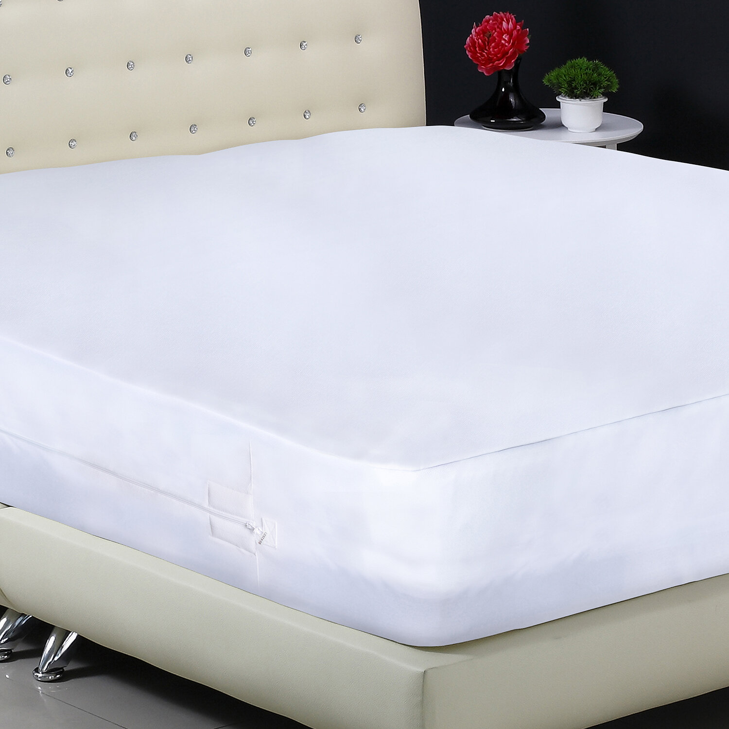 bugs coconut covers bug with for mattress detail chemical fiber topper product free bed