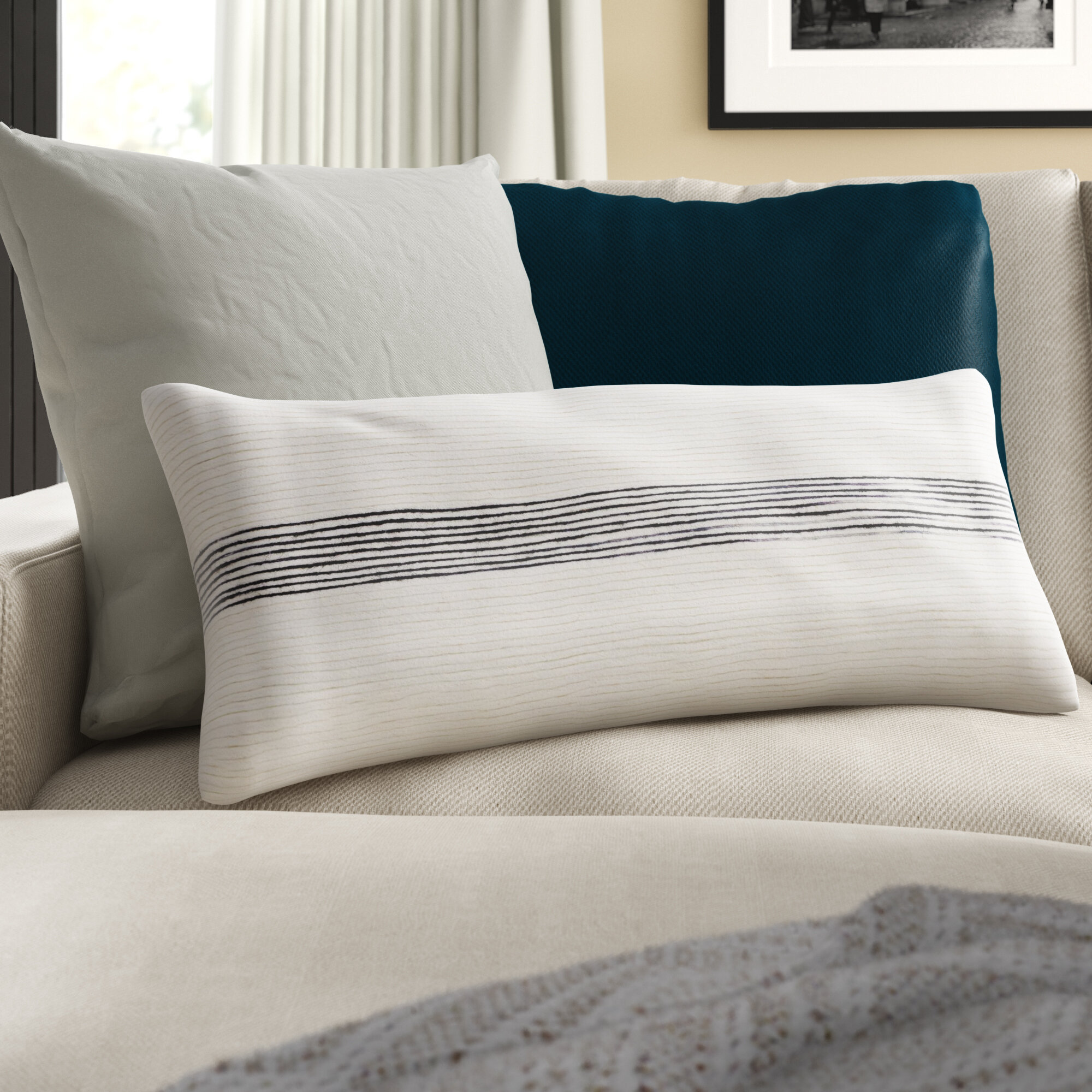 Westerly Cotton Lumbar Pillow Cover Reviews Joss Main