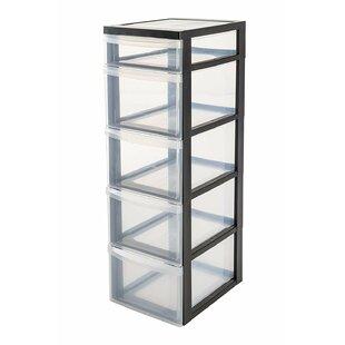5 Drawer Filing Cabinet By IRIS