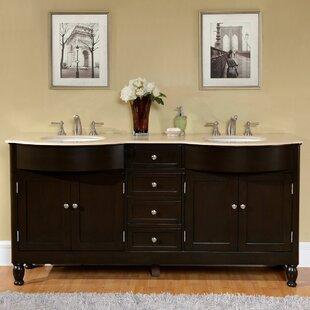 Matias 72 inch  Double Bathroom Vanity Set