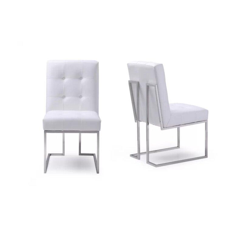 Orren Ellis Hundt Upholstered Dining Chair Reviews Wayfair