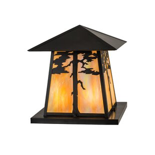 Compare Greenbriar Oak Stillwater Tamarack 4-Light Pier Mount Light By Meyda Tiffany