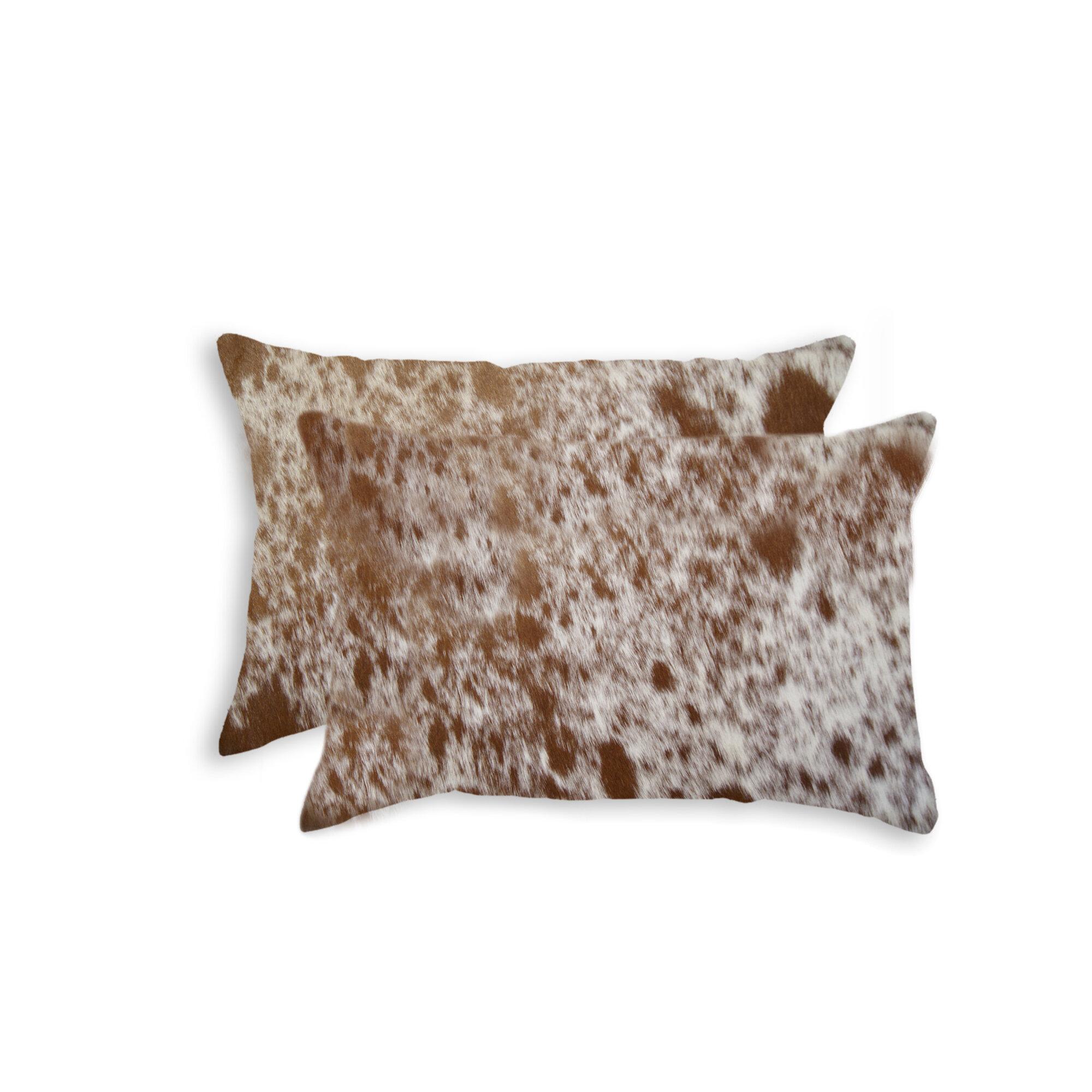 Bloomsbury Market Graham Rectangular Leather Pillow Cover And Insert Wayfair
