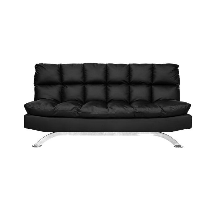 Stupendous Rhames Biscuit Back Convertible Sofa Dailytribune Chair Design For Home Dailytribuneorg