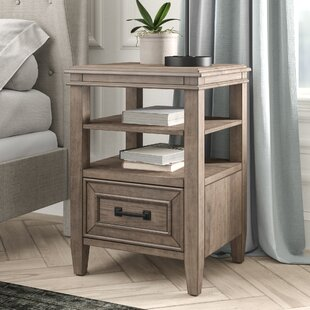 Hazzard 1 Drawer Nightstand by Charlton Home