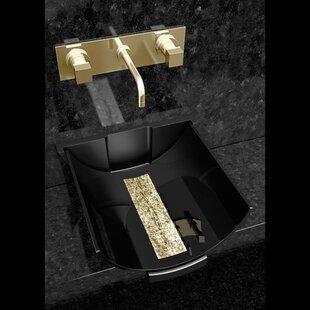 Calla Glass Specialty Vessel Bathroom Sink ByMaestro Bath